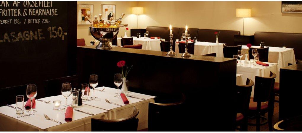 Et hyggelig Brasserie med god mad og glade mennesker<br>