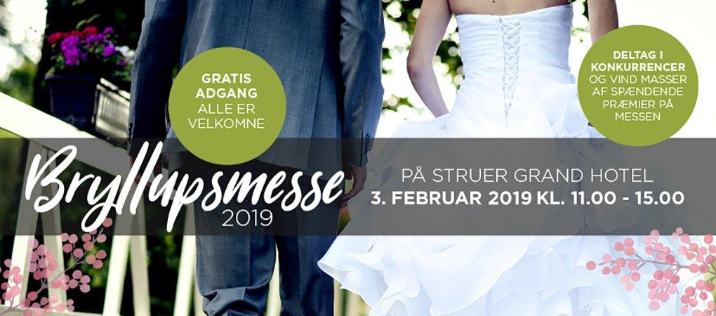 Besøg årets bryllupsmesse her på Grand Hotel